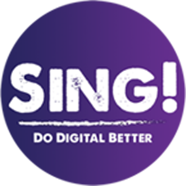 Sing! Digital Marketing Agency Dublin Logo