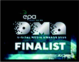 Sing! Finalist Winning digital performance marketing agency - Award Logo